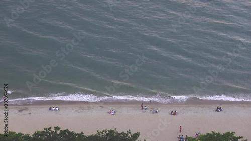 Vászonkép  Top view of Pattaya island peaceful and popular tourist destination