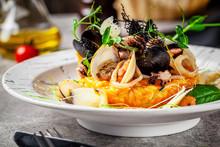 Italian Food Concept. Risotto ...