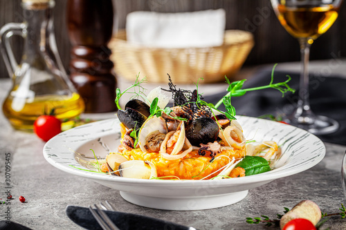 Fotografia Italian food concept