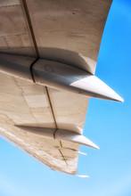 Below An Aircraft Wing