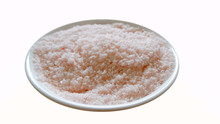 Isolated Pink Salt In White Ba...