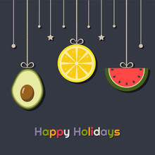 Happy Holidays Greeting Card W...