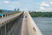 Metro Bridge In Kyiv, Ukraine ...