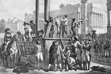 Execution By Guillotine Of Max...