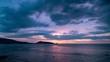 Beautiful Dramatic sunset scenery light of nature Time Lapse footage