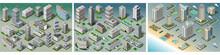 Isometric Building City Palace...