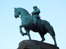 Horse Statue In Bremen