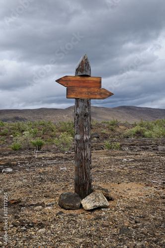 Signpost Canvas Print