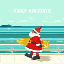 Winter Holiday Seaside Vacatio...