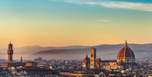 Panoramic View Of Florence At ...