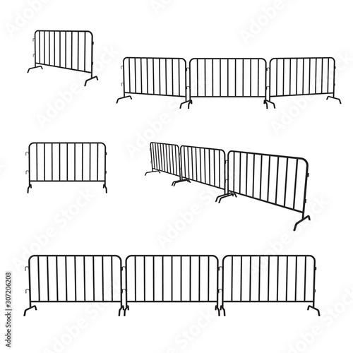 Photo Urban portable steel barrier
