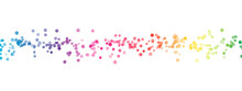 Rainbow Spectrum Dust Abstract Background