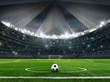 stadium with ball - soccer competition