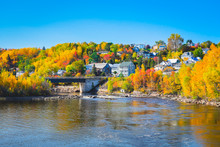 Autumn Landscape View Of Villa...