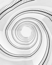 Spiral Building Stair