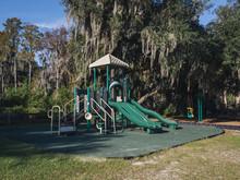 Playground Area In Lake Louisa...