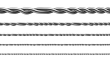 Twisted Iron Wire Seamless Pat...