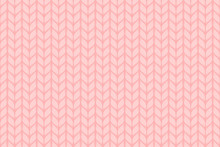 Vector Knitted Background. Cute Cozy Design