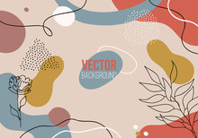 Vector Abstract Colorful Patte...