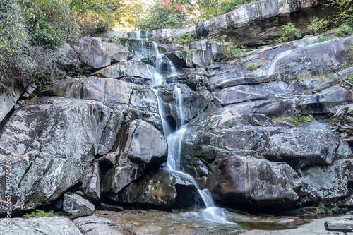 Photo  Ramsey Cascade. Great Smoky Mountains.