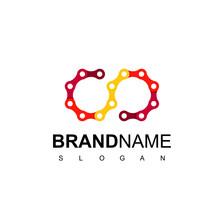 Infinity Gear Chain Logo Design Inspiration