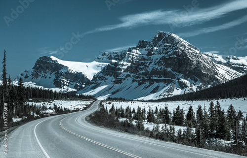 Valokuva  Icefields Parkway - Canada Route 93