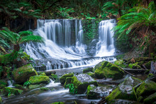 Beautiful Tropical Waterfall I...