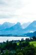 salzburg lake district - small town