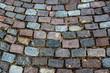 Paving stone pattern background