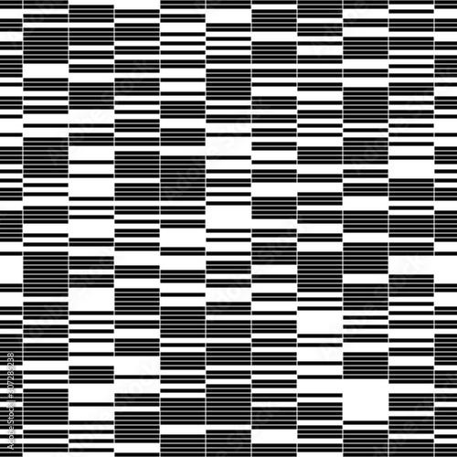Plakaty czarno białe   seamless-pattern-with-horizontal-black-segments