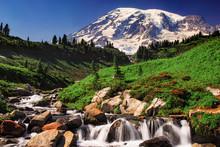 Rainer Mountain Landscape