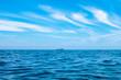 青い海と青い空と灯台のある小さい島DSC1171