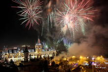 Palace Of Culture Iasi Fireworks