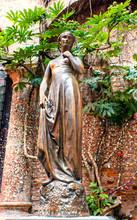 Juliet Statue In Verona