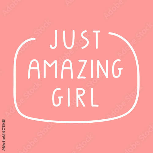 Just amazing girl Canvas Print