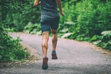 Runner Man Athlete Jogging In ...