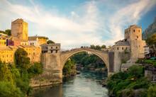 Mostar, Bosnia And Herzegovina...