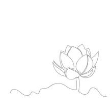 Vector Image Of Lotus Flower. ...
