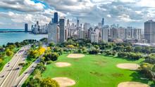 Chicago Skyline Aerial Drone V...