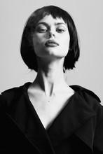 Beautiful Woman Charm Studio Model