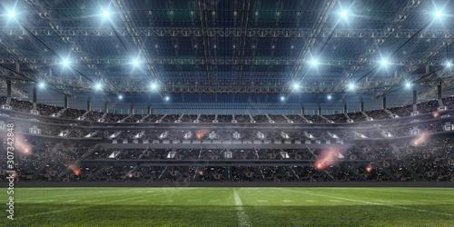 American football stadium. Tablou Canvas