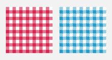 Checkered Tablecloth Seamless ...