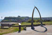 Whalebone Arch At Whitby, North Yorkshire