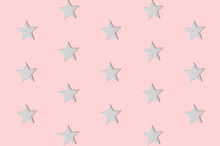 Seamless Pattern Of Five-point...