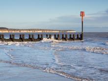 The North Beach At Bridlington...