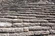 Stone roof trullo, fragment. Background. Alberobello, Italy.