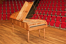 Wooden Grand Piano Keyboard - ...