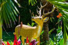 Hirsch Als Figur In Thailand