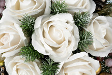 Close-up Of Christmas Bouquet ...