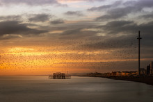 Pastel Sunset In Brighton,UK